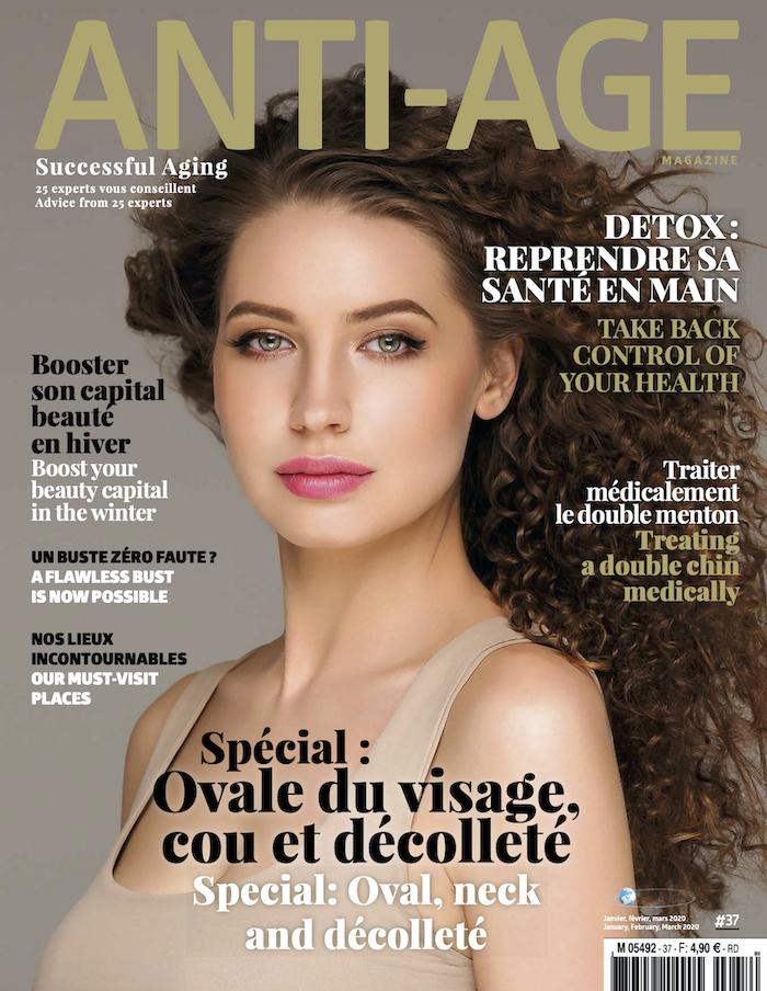 Publication du Dr Vincent Renaud dans le magazine Anti-Âge Magazine